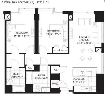 $8880 2 apartment in Beacon Hill