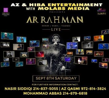 AR Rahman Live Concert 2018 in Dallas