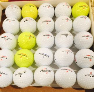 30 Pannicle used golf balls near mint condition