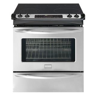 "Frigidaire 30"" Slide in Electric Range True European Convection Self Clean"