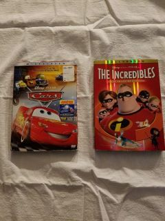 Cars and The Incredibles, $5.00