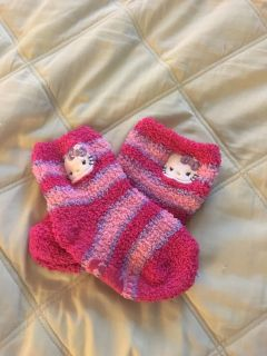 Hello Kitty gripping socks - Toddler size ages 2-4