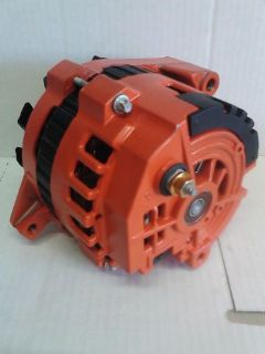 Buy DELCO 1-WIRE HIGH OUTPUT ALTERNATOR FITS GM 220 AMP 65-85 (CHEVY ORANGE) motorcycle in San Diego, California, United States, for US $105.00