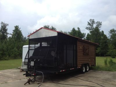Trade 2006 Southern Yankee BBQ Trailer For Flats Boat