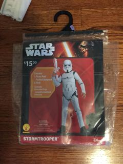 Rubies Star Wars Stormtrooper, child s Size M (