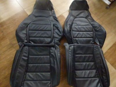 Sell 1990-1995 Mazda Miata Synthetic Leather Seat Covers Black motorcycle in Fishers, Indiana, United States, for US $245.00