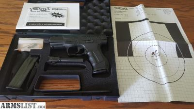 For Sale/Trade: Walther P99 with two barrels threaded, 2 mags