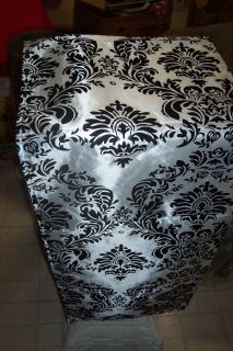 Flocking Damask Table Runners
