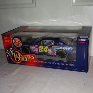 Jeff Gordon #24 SUPERMAN race car. 1/24 scale. $10
