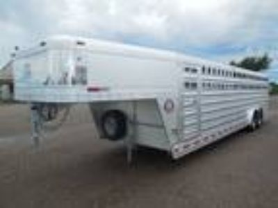 2019 Platinum Coach 28' Stock Trailer 8 wide with 2-8,000# axles Stock