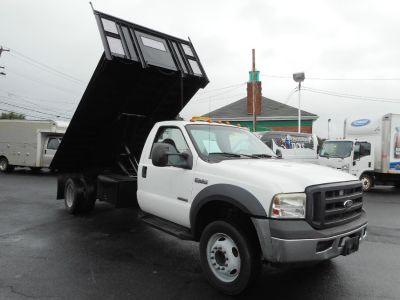 2007 Ford Stake Dump F-550 DRW 14' STAKE DUMP BODY (Oxford White)