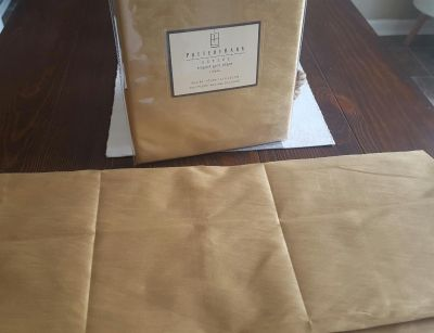 {2} BEAUTIFUL ~POTTERY BARN~ 86 INCH PANELS....NEW IN PACKAGING!