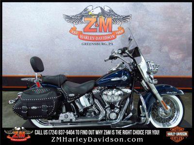 2002 Harley-Davidson FLSTC/FLSTCI Heritage Softail Classic Cruiser Motorcycles Greensburg, PA