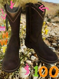 NWT WOMEN'S Ariat Unbridled Ropers Sz11