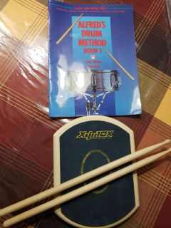 Drum Pad with book
