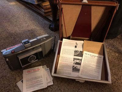 Vintage Polaroid with case