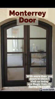 Modern Style of Iron Doors