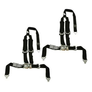 Buy 2 Kawasaki Teryx Tiger 4 Point Y Harness Seat Belts Latch & Link 2x2 w Pad Black motorcycle in Buena Park, California, US, for US $159.95