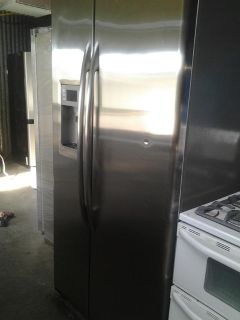 $630, GE Stainless Front refrigerator