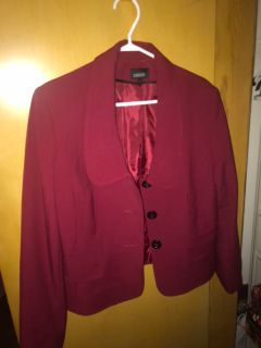 Women s Size 12 Red Blazer