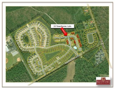 Midtown Village -33 Finished Townhouse Lots-1.42 Acres-For Sale-Conway, SC