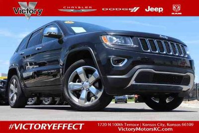 2014 Jeep Grand Cherokee Limited **RECENT TRADE**LIMITED**ROOF**LEATHER**