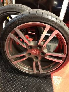 "(FEELER): 19"" Turbo II Wheels/Tires - OEM Porsche"