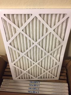 Case of HVAC Filters