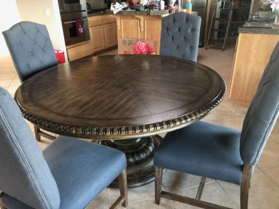 6ft round dining table