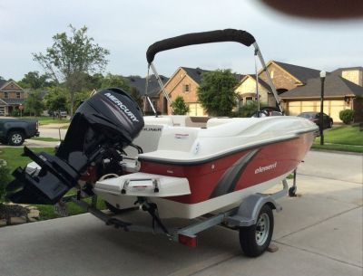 2015 Bayliner Element & Trailer