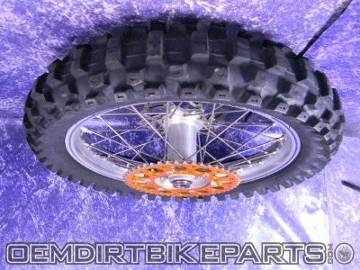 Buy KTM Rear Excel Wheel rim 00-12 19 inch 125 200 250 300 350 400 450 500 525 530 motorcycle in San Clemente, California, US, for US $328.90