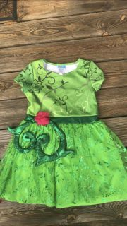 Girls poison Ivy Halloween costume size large