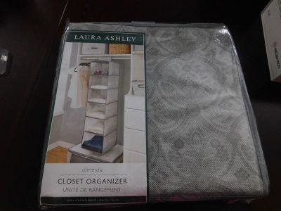 BRAND-NEW IN PKG LAURA ASHLEY CLOSET ORGANIZER!