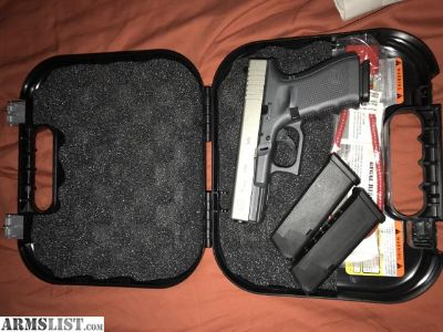 For Sale: Like new 50 rounds fired Glock 19 gen 4 factory cerakoted firm price