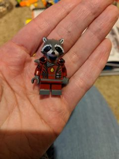 Lego Rocket Guardians of the Galaxy #2 red suit