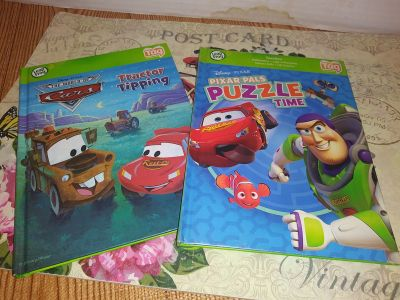 2-Leap frog Tag books