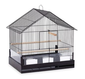 Pervue Pet Products - The Lincoln Bird Cage - Black