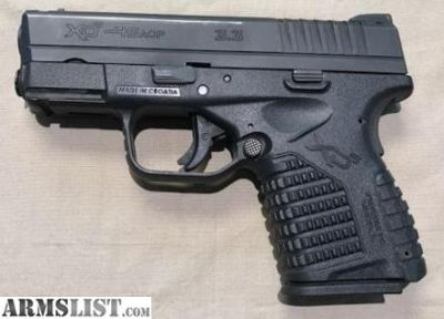 For Sale: Springfield XDS 45ACP
