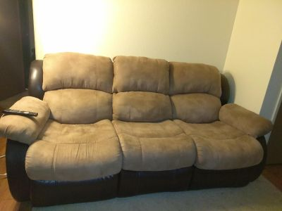 3 person couch almost new