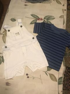 Set 2 pc carters s size 12mons new