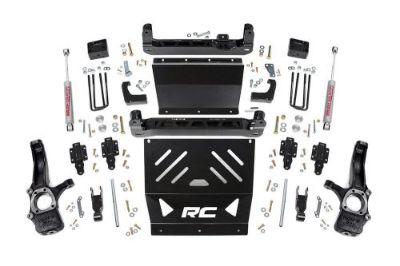 Purchase Rough Country 4in GM Suspension Lift Kit 15-16 Canyon/Colorado 4WD Diesel Engine motorcycle in Dyersburg, Tennessee, United States, for US $999.95
