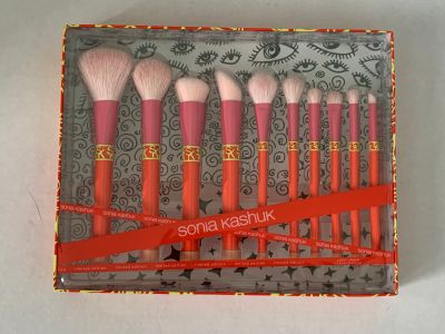 10 Piece Limited Edition Sonia Kashuk Makeup Brush Set