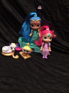 Shimmer and Shine magic couch set