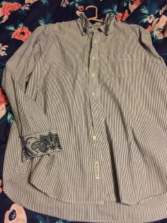 Lucky brand button up large