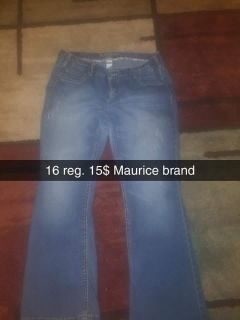 Maurices size 16 reg