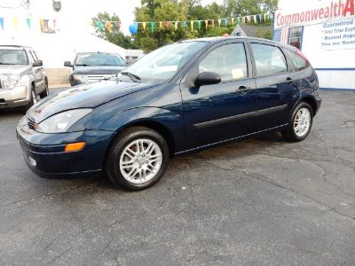 2003 Ford Focus ZX5 (French Blue Metallic)