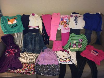 Size 4 girl s clothing lot