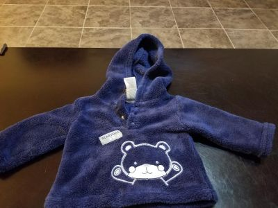 3 to 6 month hoodie