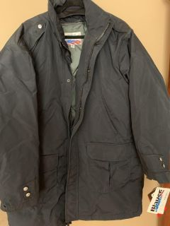 Brand new with tags men s security/police winter coat