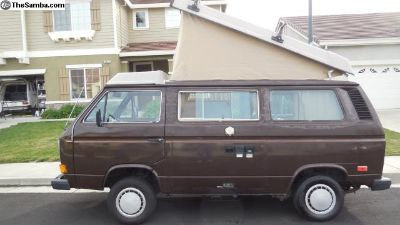 1985 VW Vanagon Westphalia Camper - Low Miles